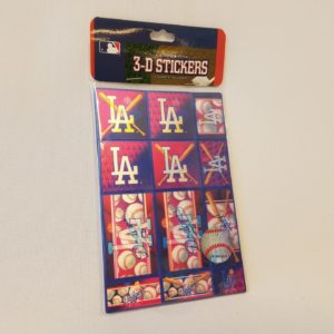 Dodgers 3D Stickers