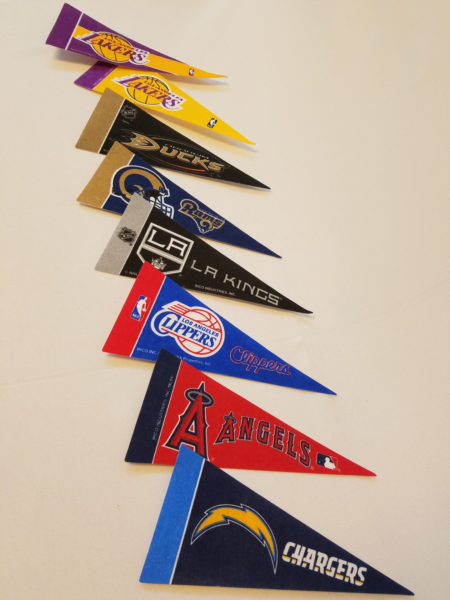 Assorted Sports Pennants