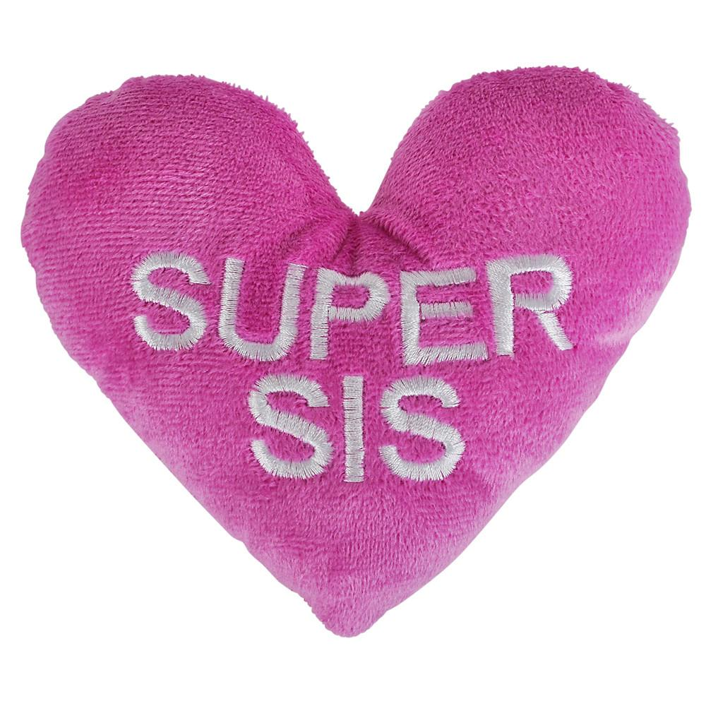 Super Sis Plush Heart