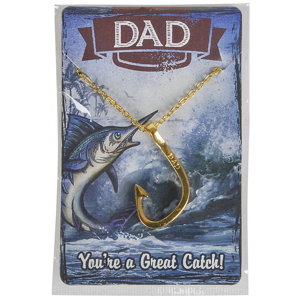 Dad Fishhook Necklace
