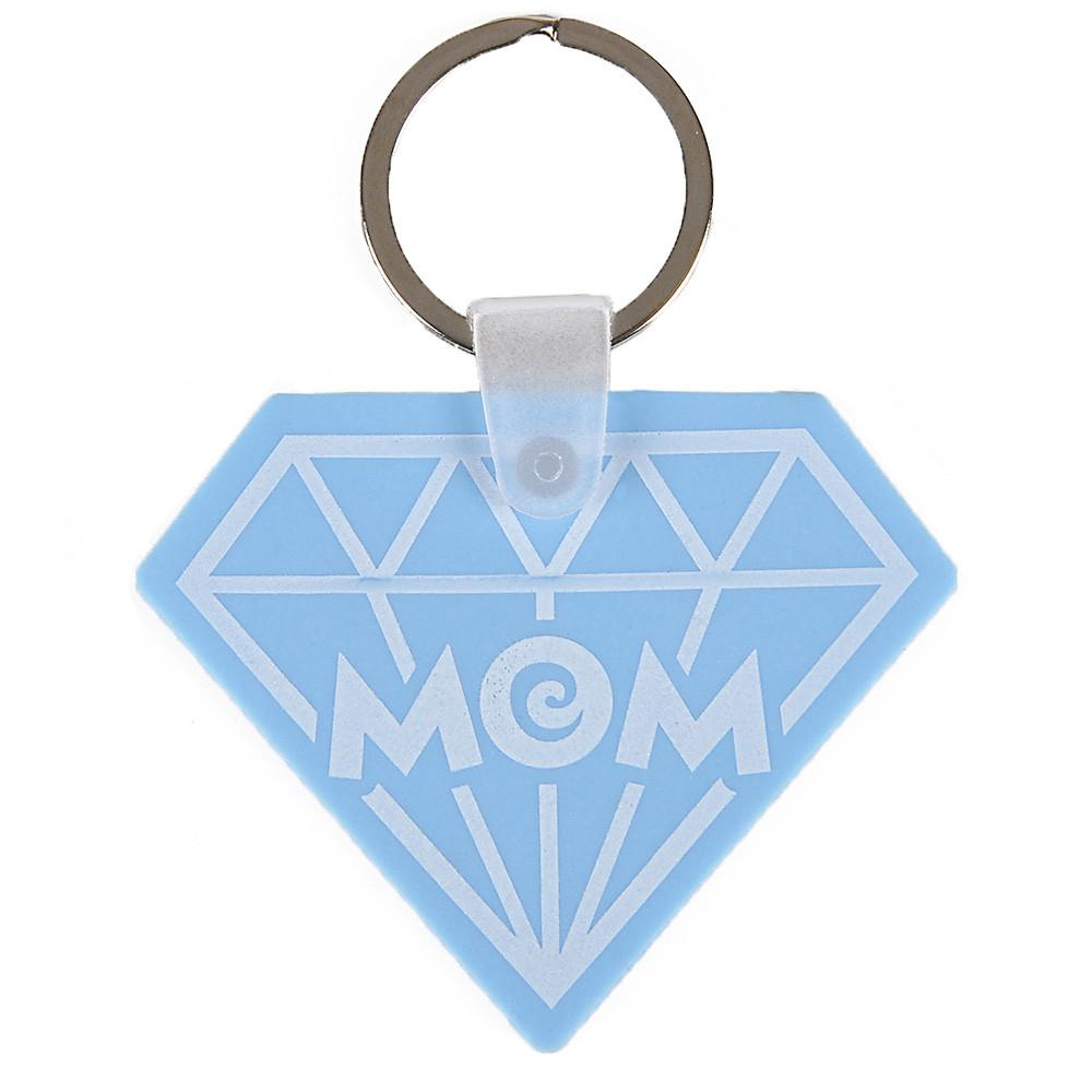 Mom Diamond Keychain