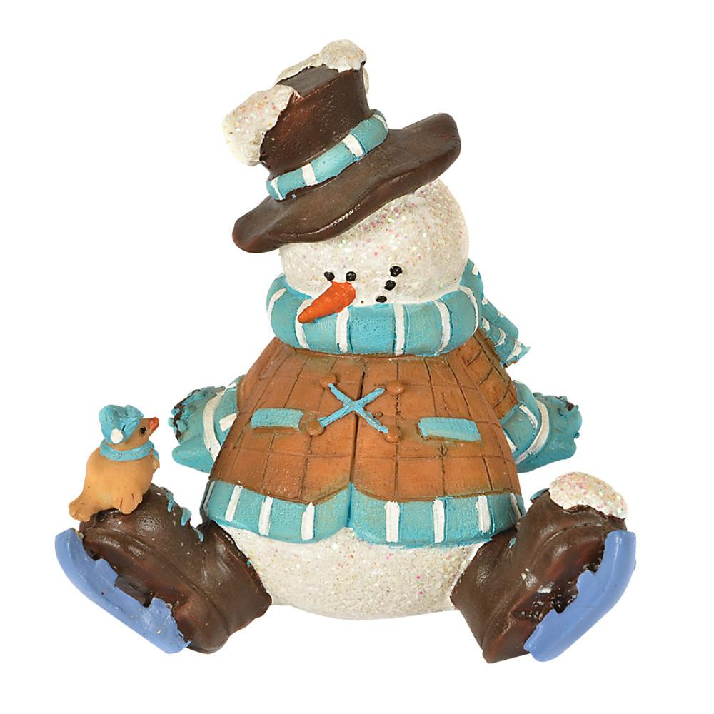Lazy Snowman Decoration